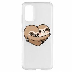Чохол для Samsung S20 Love sloths