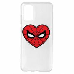 Чохол для Samsung S20+ Love spider man