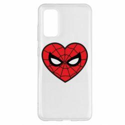 Чохол для Samsung S20 Love spider man