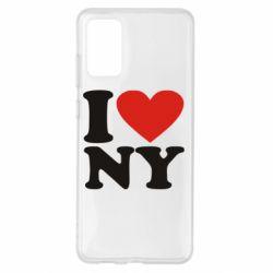 Чохол для Samsung S20+ Люблю Нью Йорк
