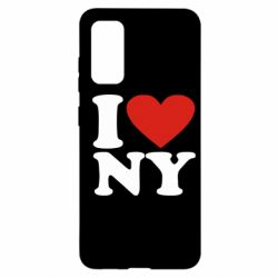 Чохол для Samsung S20 Люблю Нью Йорк