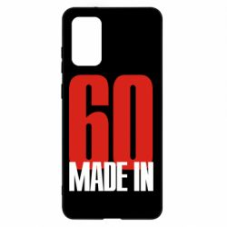 Чохол для Samsung S20+ Made in 60