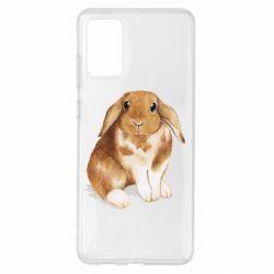 Чохол для Samsung S20+ Маленький кролик