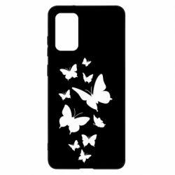 Чохол для Samsung S20+ Many butterflies