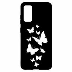 Чохол для Samsung S20 Many butterflies