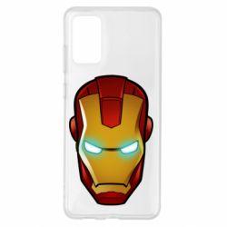 Чехол для Samsung S20+ Маскаа Железного Человека