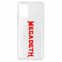 Чохол для Samsung S20+ Megadeth