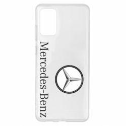 Чехол для Samsung S20+ Mercedes-Benz Logo