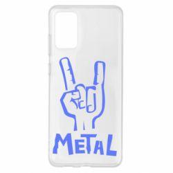 Чохол для Samsung S20+ метал