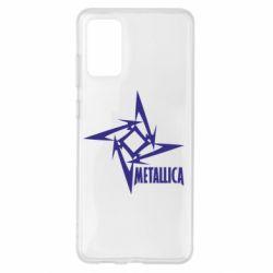 Чохол для Samsung S20+ Логотип Metallica