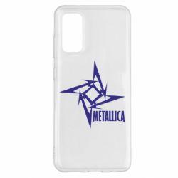 Чохол для Samsung S20 Логотип Metallica