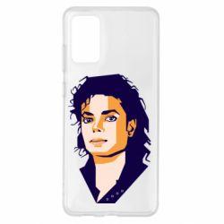 Чохол для Samsung S20+ Michael Jackson Graphics Cubism