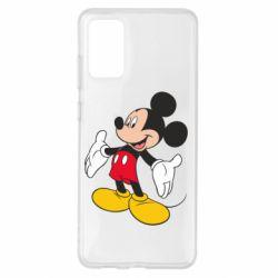 Чохол для Samsung S20+ Mickey Mouse