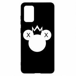 Чохол для Samsung S20+ Mickey with a crown
