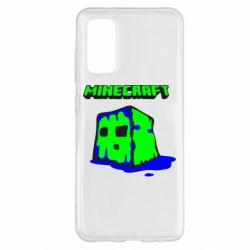 Чохол для Samsung S20 Minecraft Head