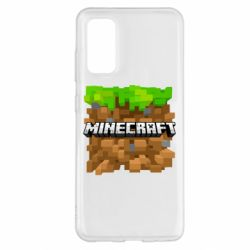 Чохол для Samsung S20 Minecraft Main Logo