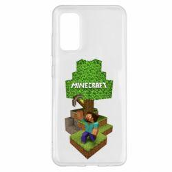 Чохол для Samsung S20 Minecraft Steve