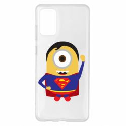 Чохол для Samsung S20+ Minion Superman