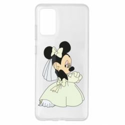 Чехол для Samsung S20+ Minnie Mouse Bride