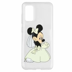 Чехол для Samsung S20 Minnie Mouse Bride