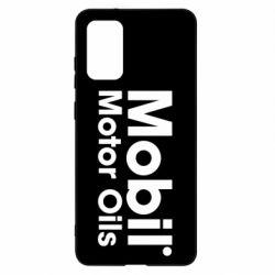 Чохол для Samsung S20+ Mobil Motor Oils