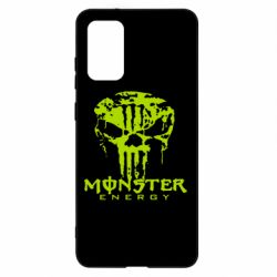 Чохол для Samsung S20+ Monster Energy Череп