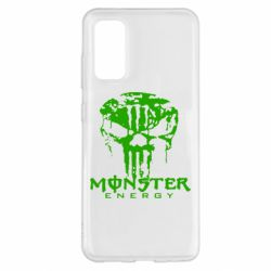 Чохол для Samsung S20 Monster Energy Череп