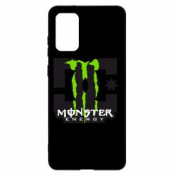 Чохол для Samsung S20+ Monster Energy DC