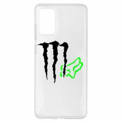 Чохол для Samsung S20+ Monster Energy FoX