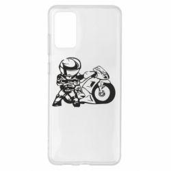 Чохол для Samsung S20+ Мотоцикліст