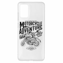 Чехол для Samsung S20+ Motorcycle Adventure
