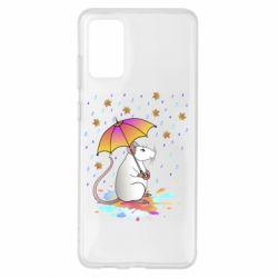 Чохол для Samsung S20+ Mouse and rain