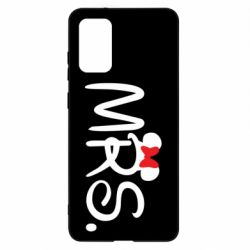 Чехол для Samsung S20+ Mrs.
