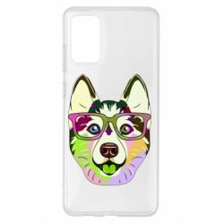 Чохол для Samsung S20+ Multi-colored dog with glasses