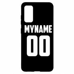 Чохол для Samsung S20 My name American