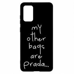 Чохол для Samsung S20+ My other bags are prada