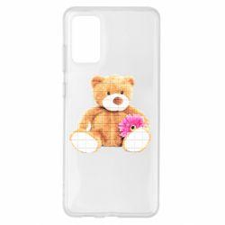 Чохол для Samsung S20+ М'який ведмедик