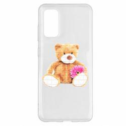 Чохол для Samsung S20 М'який ведмедик