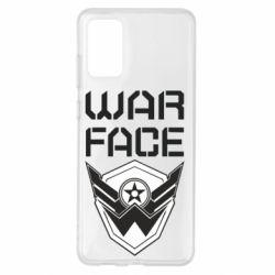 Чохол для Samsung S20+ Напис Warface