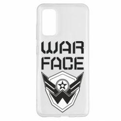 Чохол для Samsung S20 Напис Warface