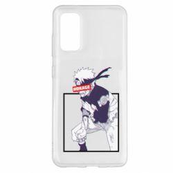 Чехол для Samsung S20 Naruto Hokage glitch