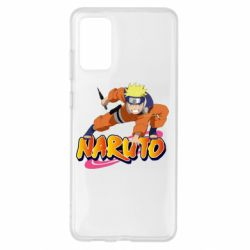 Чохол для Samsung S20+ Naruto with logo