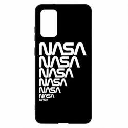Чехол для Samsung S20+ NASA