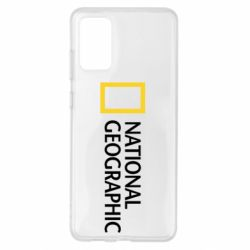 Чохол для Samsung S20+ National Geographic logo