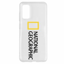 Чохол для Samsung S20 National Geographic logo