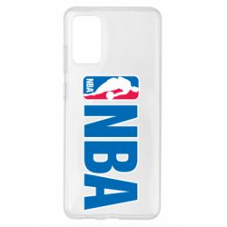 Чехол для Samsung S20+ NBA Logo