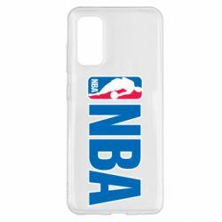 Чехол для Samsung S20 NBA Logo