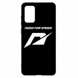 Чехол для Samsung S20+ Need For Speed Logo