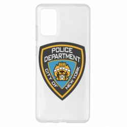 Чехол для Samsung S20+ New York Police Department
