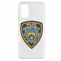 Чехол для Samsung S20 New York Police Department
